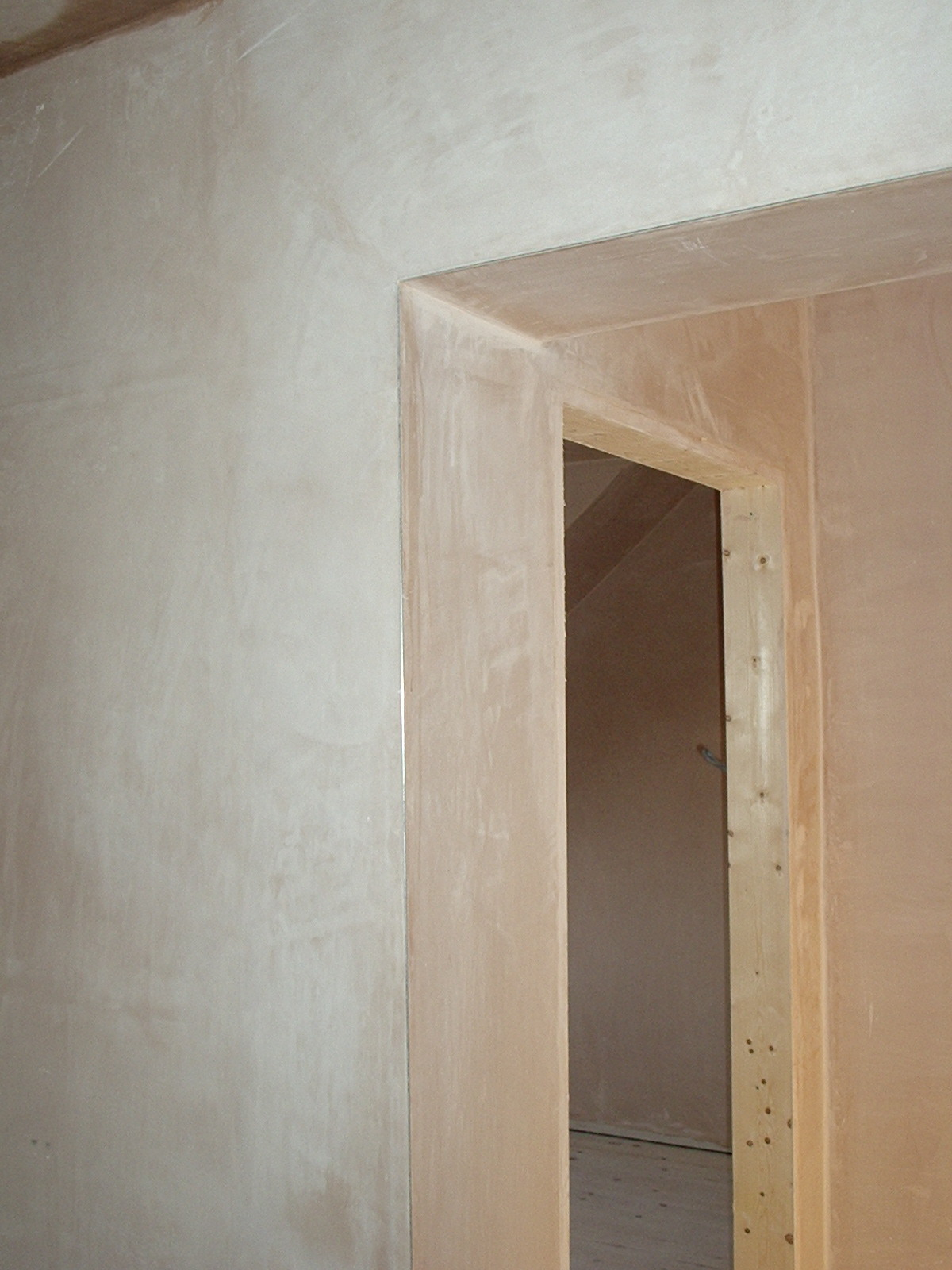 Nottingham Plasterer Doorway 2