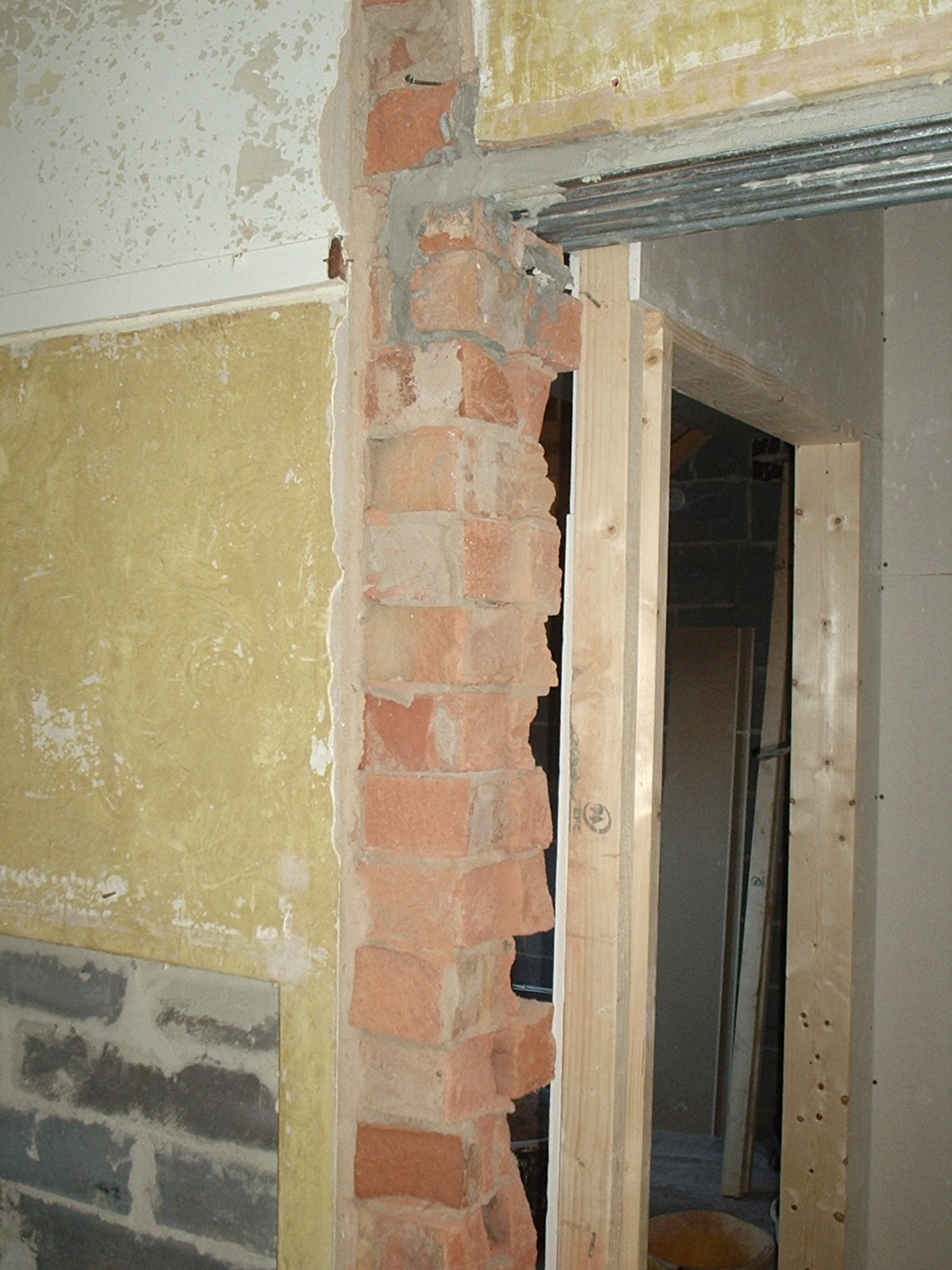 Nottingham Plasterer Doorway 1